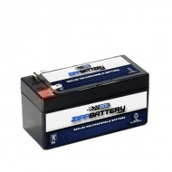 12V 1.2AH Sealed Lead Acid (SLA) Battery - T1 Terminals