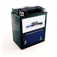 YTX14AHL-BS High Performance Power Sports Battery