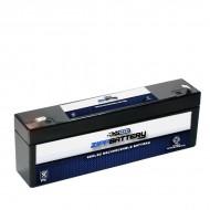 12V 2.3AH Sealed Lead Acid (SLA) Battery - T1 Terminals