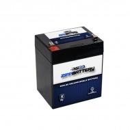 12V 5.4AH Sealed Lead Acid (SLA) Battery - T2 Terminals