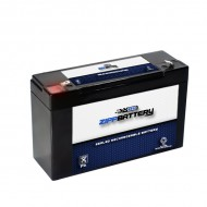 6V 10AH Sealed Lead Acid (SLA) Battery - T1 Terminals